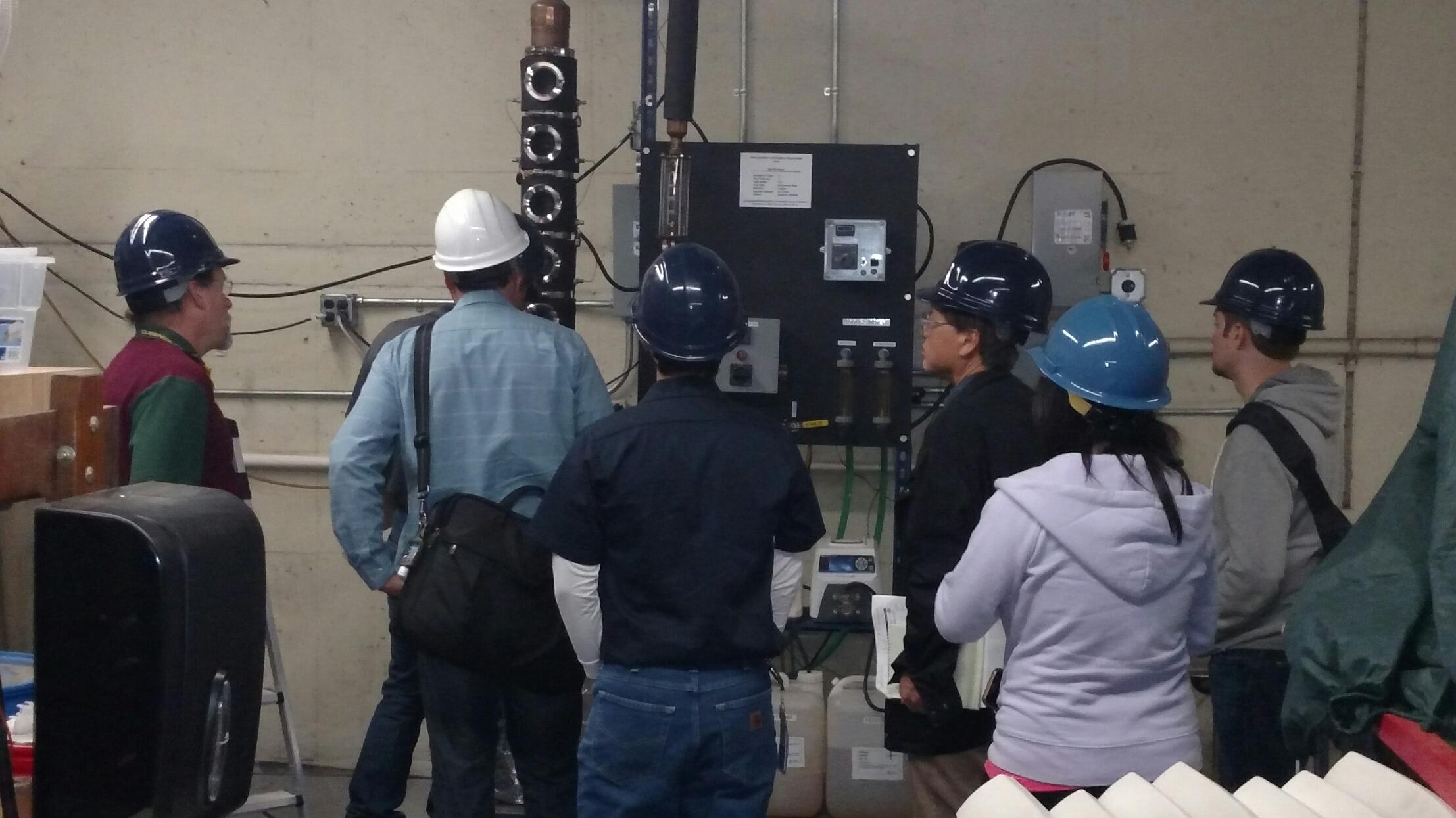 SBAR Researchers in ChemE lab
