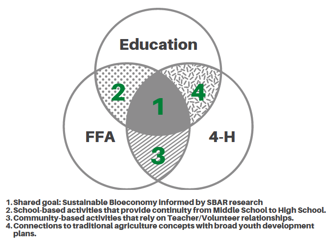 SBAR Youth Development Venn diagram