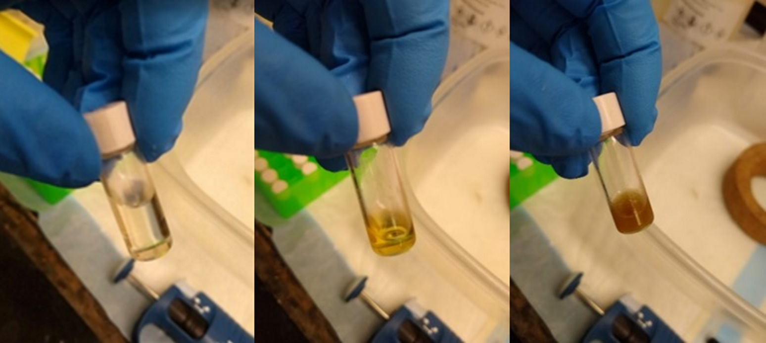 Secondary compounds distilled from guayule resin