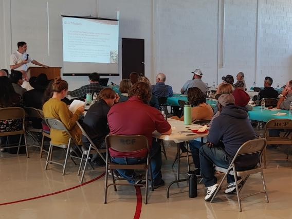 Alternative Crops Conference hosted in Portales, New Mexico, welcomed 50 participants from the region.