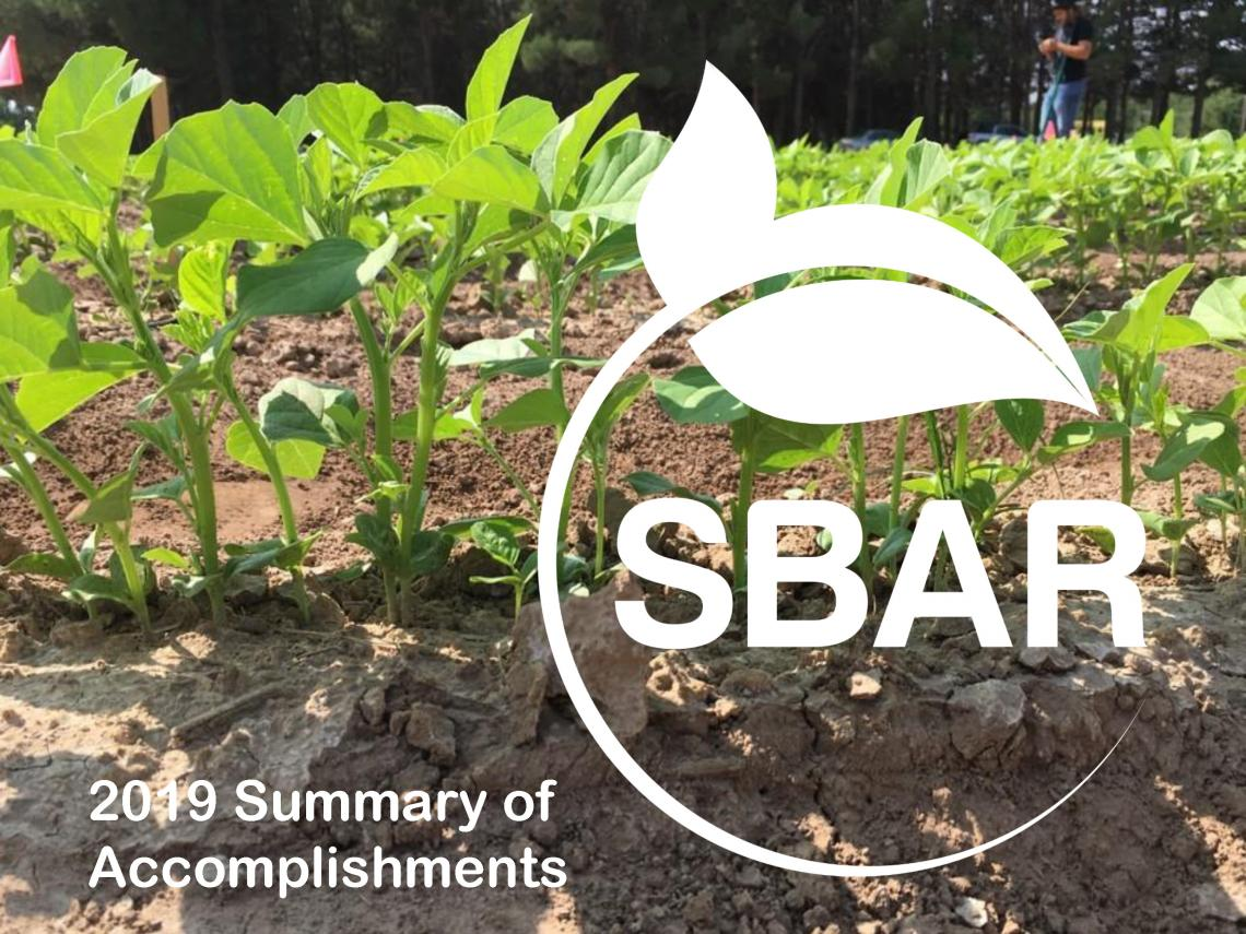 SBAR 2019 Summary of Accomplishments cover