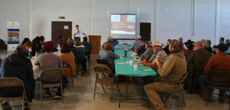 The feasibility and sustainability of guar production in the Southern High Plains were topics of discussion.