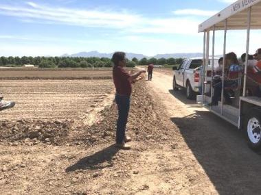 Field day focused on guar production, New Mexico