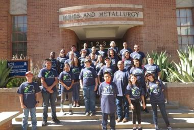 SBAR Biofuels 4-H Summer Camp participants at the University of Arizona in Tucson (July 2018)